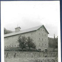 Image of [View of the Great Stone Barn] - Mount Lebanon, NY