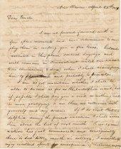 Image of 1819 Mason Brown to Samuel Brown