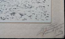 Image of Detail of studio signature