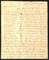 Image of 1826 Margaretta Brown to Orlando Brown