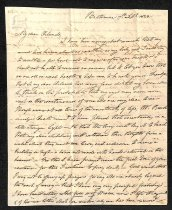 Image of 1823 Margaretta Brown to Orlando Brown