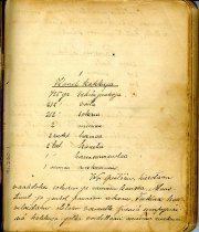 Image of Cookbook, Handwritten Finnish