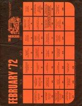 Image of 2017.27.02 - Calendar of Events for the Mercado shopping center