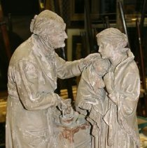 Image of Sculpture - The Charity Patient