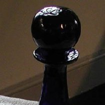 Image of Decanter - cobalt 3-mold decanter