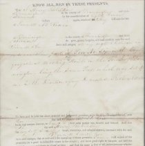 Image of Old First Congregational Church Pew Rental Agreement - Old First Congregational Church (Bennington, Vt.)