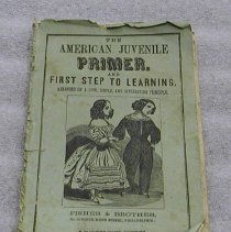 """Image of Book - """"The American Juvenile Primer, and First Step to Learning:arranged on a new, simple, and interesting principle."""""""