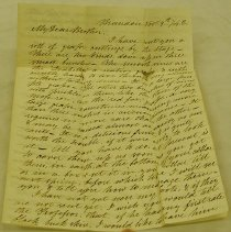 Image of Letter to Daniel Perry from Josiah Perry - Perry, Josiah