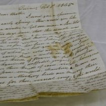 Image of Letter to Daniel Perry from Josiah February 1842 - Perry, Josiah