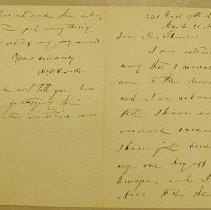 Image of Howells, William D. - Correspondence - Howells, William D.