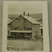 Image of Postcard of Bradbury M. Bailey Shop 1855 -