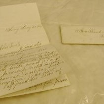 Image of Pearsall Letter to Mrs. Coles - Pearsall, Thomas Buchanan