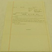 Image of United States Patent Rejection Letter - United States. Patent Office