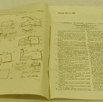 Image of Zurcher Baggage Liner Patent - United States. Patent Office