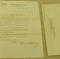 Image of Shortridge Letter - Shortridge, Samuel M.