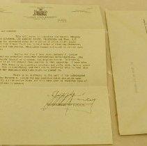Image of Keely Letter - Keeley, John M.