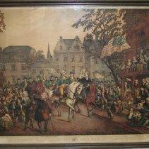 Image of Print - Washington's Triumphal Entry into New York, Nov. 25, 1783