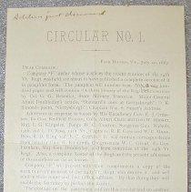 Image of 14th Vermont Regiment Notice -
