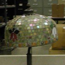 Image of Lamp, Electric - Tiffany mosaic lamp