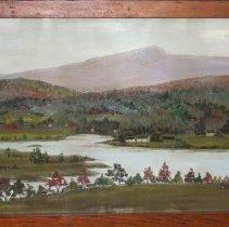 Image of Painting - Lake Sadawga and Haystack Mt.