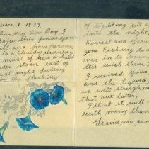 Image of Moses Letter to Armstrong 1959 - Moses, Anna Mary Robertson (Grandma)