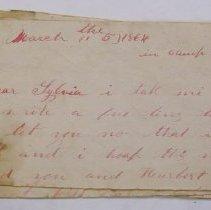 Image of Harvey Allen Letter - Allen, Harvey H.