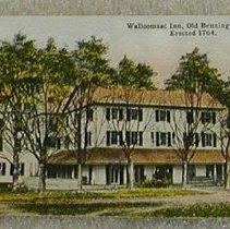 Image of Griswold of Bennington Postcard-Walloomsac Inn - Griswold of Bennington