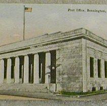 Image of Griswold of Bennington Postcard--Post Office - Griswold of Bennington.