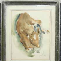 Image of Painting - Calf
