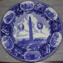 Image of Plate, Commemorative - Vermont Centennial, 1891