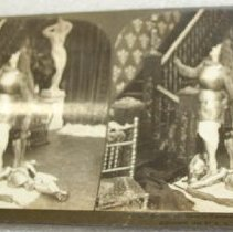 Image of Stereograph - Ha! Ha!  Guess he'll remember that one while
