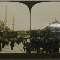 Image of Stereograph - New Mosque of the Sultan-Mother