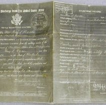 Image of Hynes, Guy S. Discharge - United States. Army