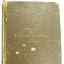 Image of Book - Manual for army cooks, 1916.