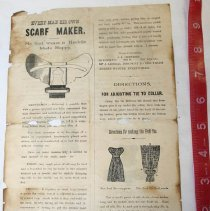 Image of Directions for Scarfs -
