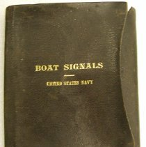 Image of Book - Boat signals for the use of the United States Navy