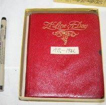 Image of Pauline Batchelder Campbell Diary - Campbell, Pauline Batchelder