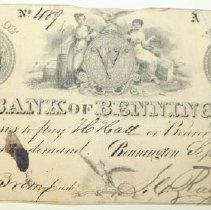 Image of Check, Bank