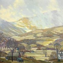 Image of Painting - Vermont Village