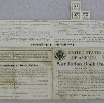 Image of War Ration Book One - United States. Office of Price Administration