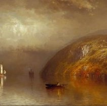 Image of Painting - The Hudson Near Newburgh