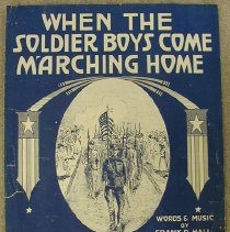 Image of Music, sheet - When the Soldier Boys Come Marching Home
