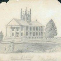Image of Union Academy  Drawing - Norton, Louisa B.