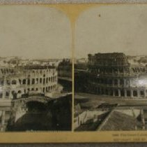 Image of Stereograph - The Great Colosseum, Rome, Italy