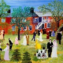 Painting A Country Wedding