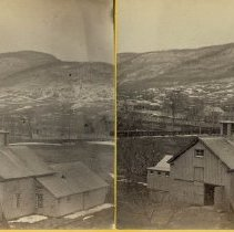 Image of Stereograph - Mount Anthony from top of Park Block