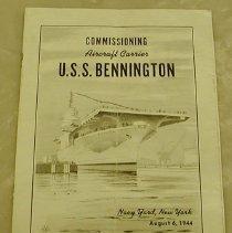 Image of USS Bennington Commissioning Ceremony - United States. Navy