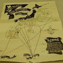 Image of USS Bennington Map - Bennington (Aircraft carrier)