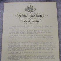 Image of Averell Harriman Charter for the Aging Proclamation - Harriman, Averell