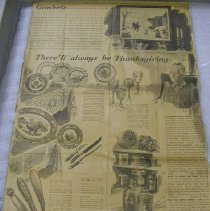 Image of Gimbel Department Store Advertisement - New York Sun